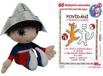 MÚ Brno Večerníček 30 cm s DVD