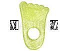 Munchkin Chladivé gelové kousátko Ručička 2