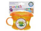 Munchkin Svačinkový hrneček Click Lock - Žluto-oranžová 2