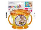 Munchkin Svačinkový hrneček - Oranžové víčko 2
