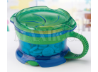 Munchkin Svačinkový hrneček Click Lock - Modro-zelená 2