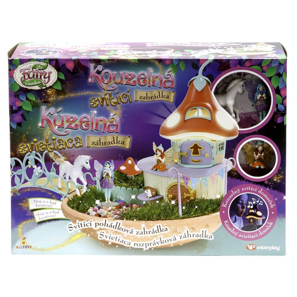 My Fairy Garden Kouzelná svítící  zahrádka #3