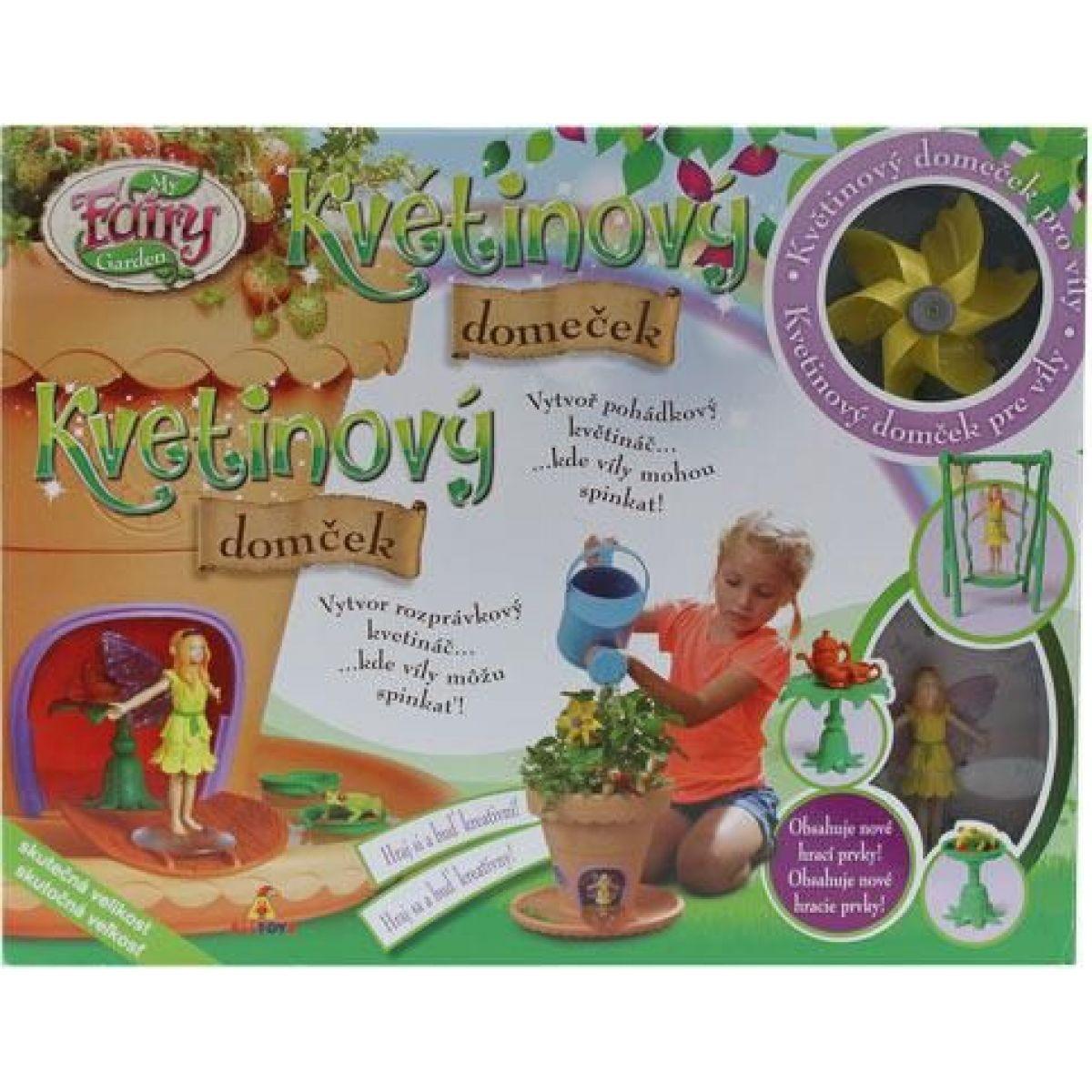 My Fairy Garden Kouzelná zahrádka květinový domeček #5