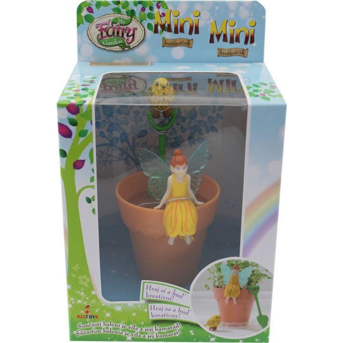 My Fairy Garden Kouzelná zahrádka mini květináček Joy #4
