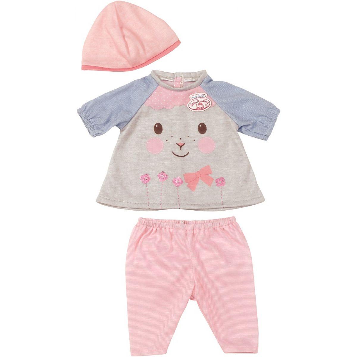 My First Baby Annabell Oblečení pro volný čas - Šedivé tričko
