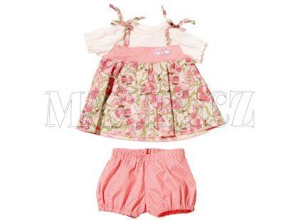 My first Baby Annabell Oblečení na děvče i chlapce - Květované šaty