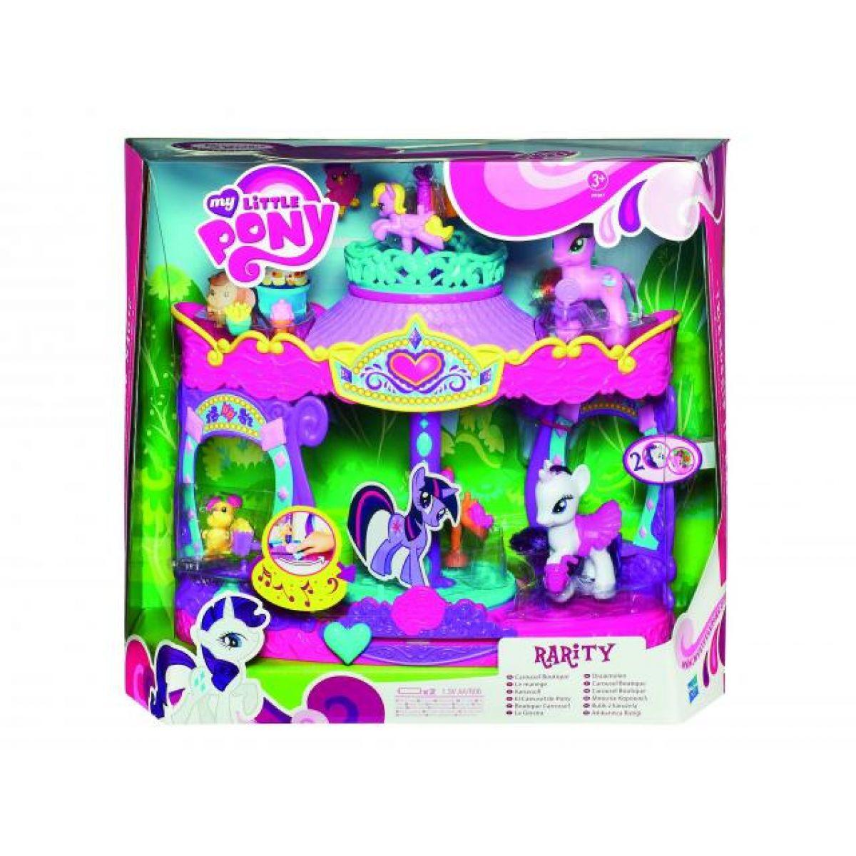 My Litlle Pony hrací set - kolotoč Hasbro 29207