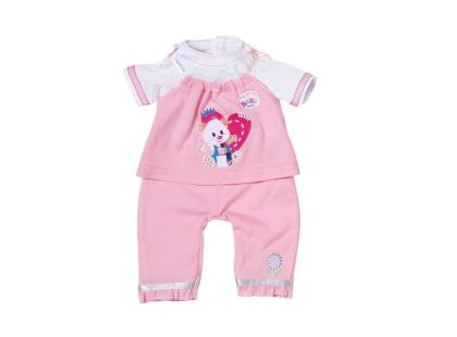 My little Baby Born Dupačky - Růžovo-bílá
