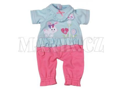My Little Baby Born Dupačky 820216 - Modro-růžová