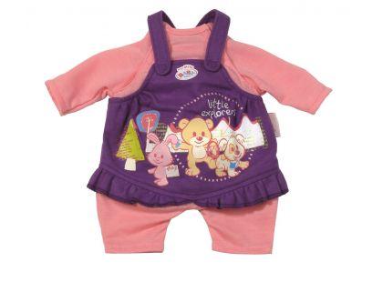 My Little Baby Born Jednodílné oblečení - Fialovo-růžová