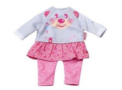 My Little Baby Born Oblečení Easy Fit - Růžové kalhoty se sukýnkou