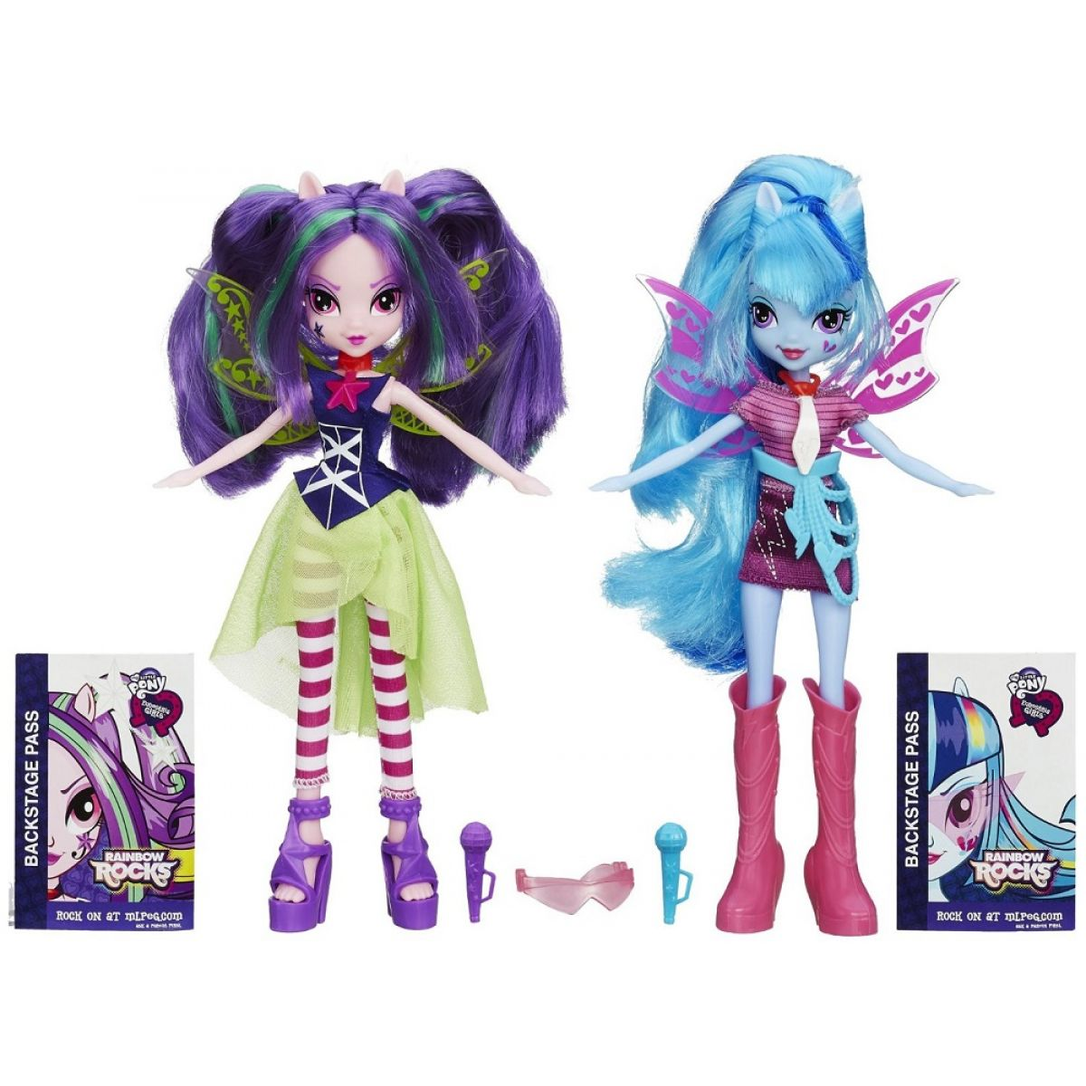 My Little Pony Equestria Girls Balení dvou panenek
