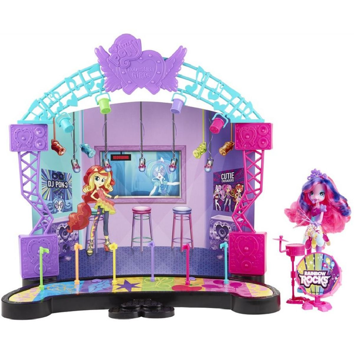 My Little Pony Equestria Girls jeviště hrací set
