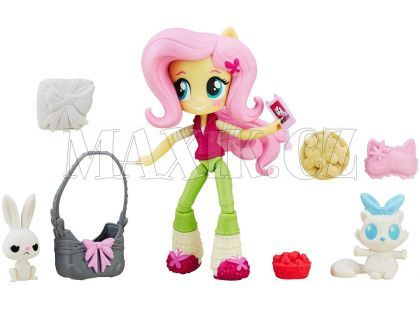 My Little Pony Equestria Girls Minis Malé panenky s doplňky - Fluttershy