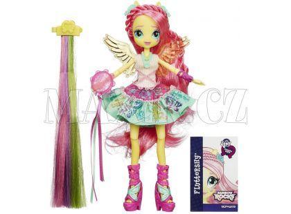 My Little Pony Equestria Girls Panenka s vlasovými dopňky - Fluttershy