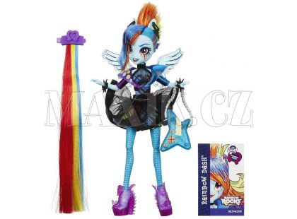 My Little Pony Equestria Girls Panenka s vlasovými dopňky - Rainbow Dash