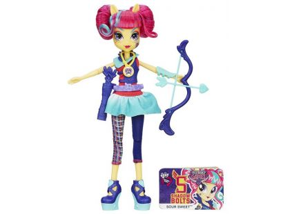 My Little Pony Equestria Girls Shadowbolts Sportovní panenky - Sour Sweet