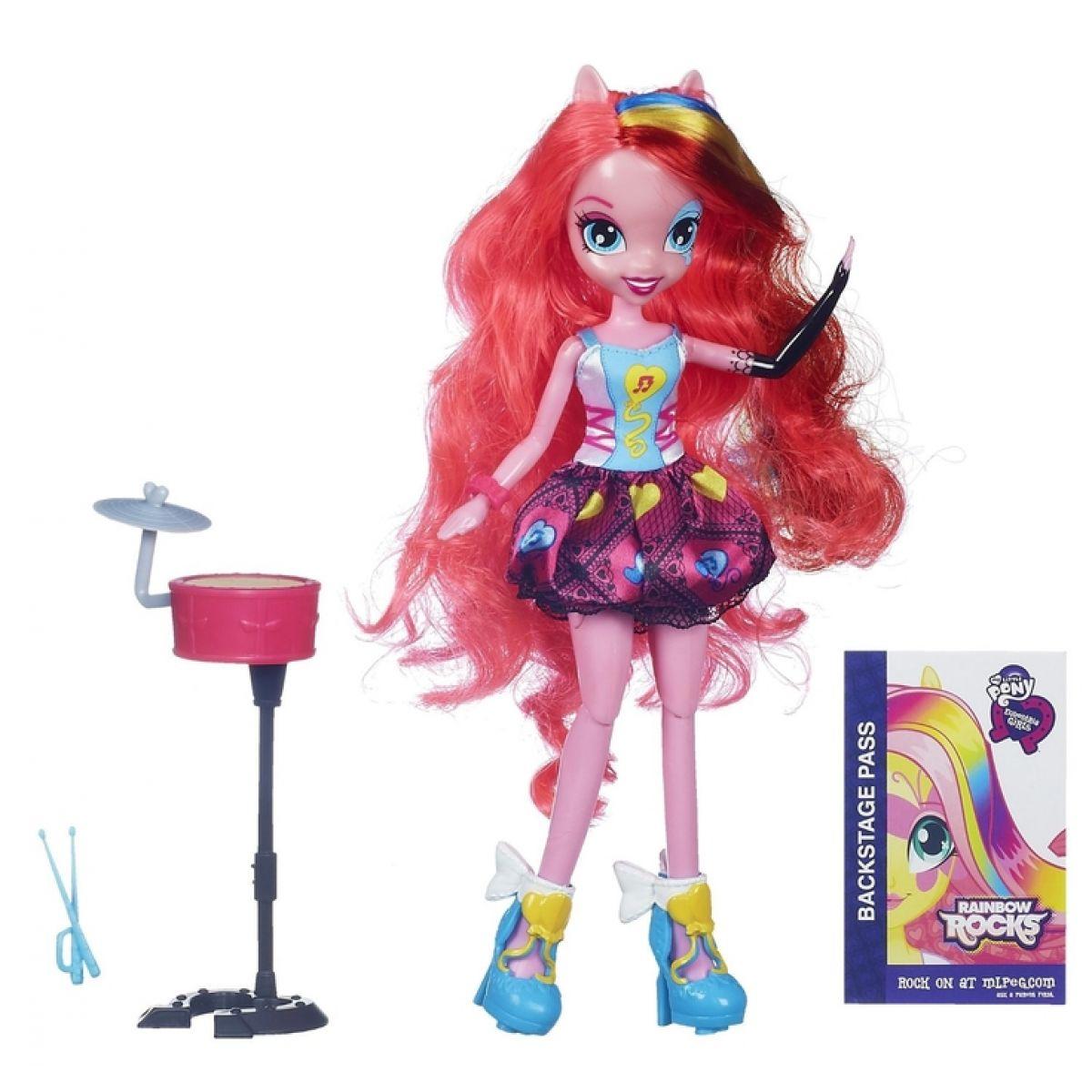My Little Pony Equestria Girls Zpívající panenky - Pinkie Pie