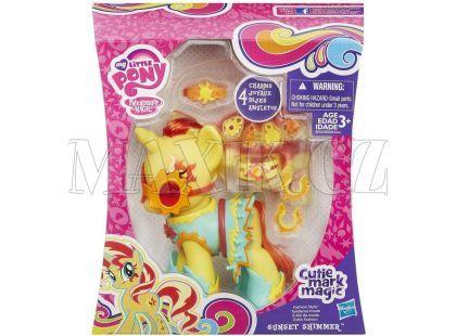 My Little Pony Kouzelný poník s oblečky a doplňky - Sunset Shimmer