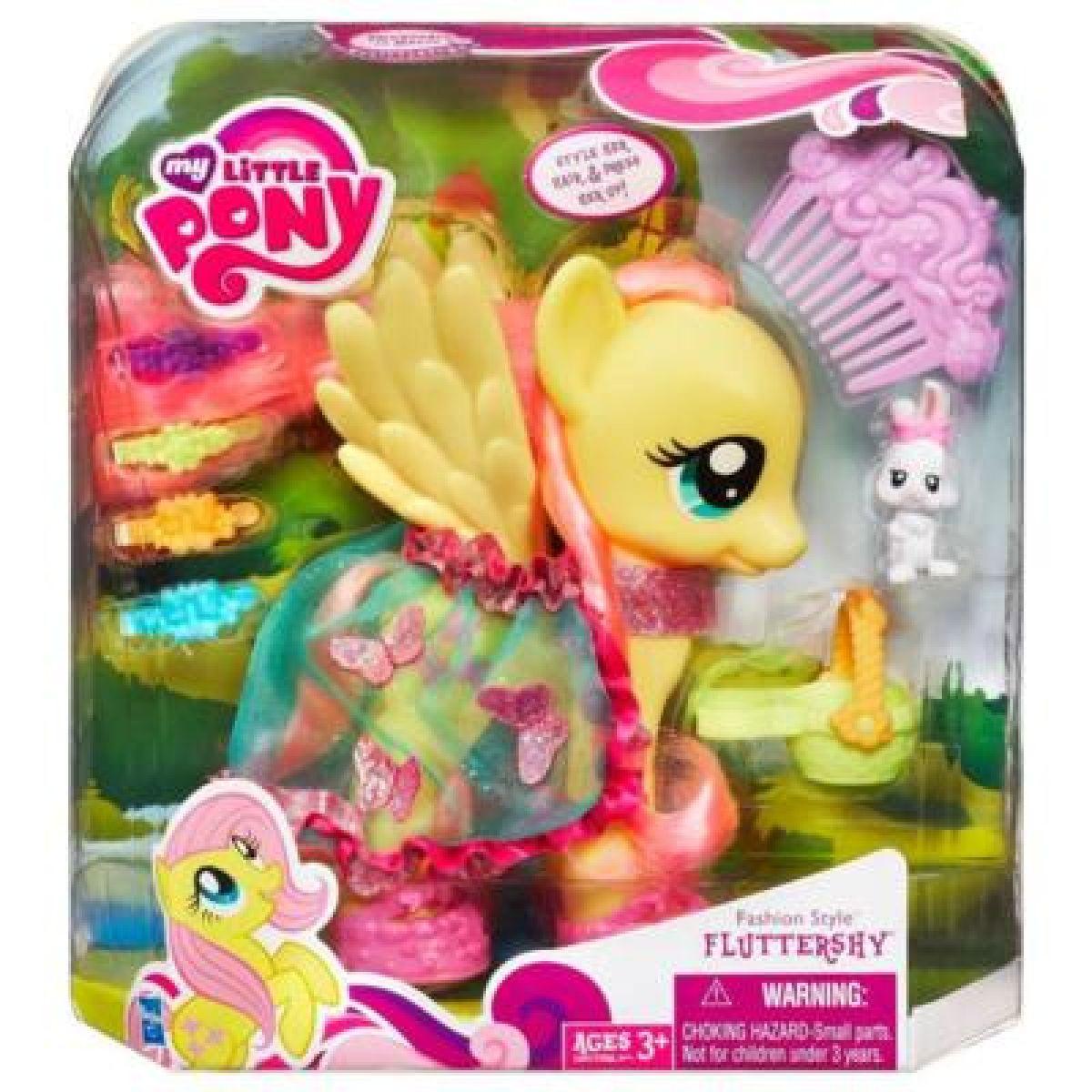 My Little Pony Módní poník s kadeřnickými doplňky - Fluttershy