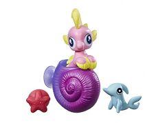 My Little Pony Mini pony s přísavkou a doplňky Růžový se žlutou hřívou