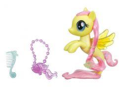 My Little Pony Mořský poník 15cm s módními doplňky Fluttershy