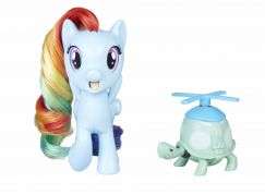 My Little Pony Poník s otáčecí hlavou Magic Rainbow Dash