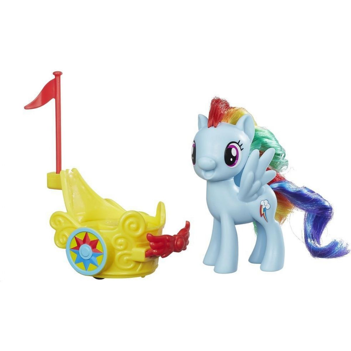 My Little Pony Poník s vozíkem Rainbow Dash