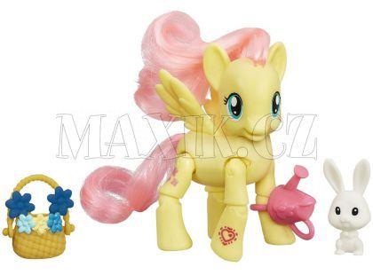 My Little Pony Poník s kamarádem a doplňky - Fluttershy