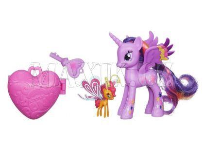 My Little Pony poník s kouzelným klíčem a doplňky - Sunset Breezie