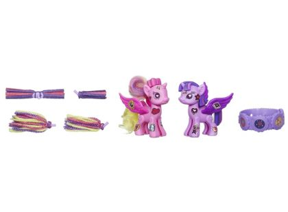 My Little Pony Pop Deluxe Style Kit - Princess Twilight Sparkle a Princess Cadance