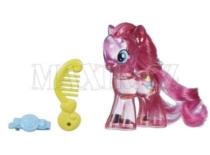 My Little Pony Průhledný poník s třpytkami a doplňkem - Pinkie Pie