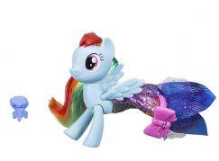 My Little Pony Proměňující se poník 7,5cm s doplňky Rainbow Dash