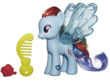 My Little Pony Průhledný poník s třpytkami a doplňkem - Rainbow Dash