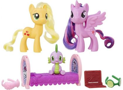 My Little Pony Set 2 poníků s doplňky Princess Twilight Sparkle a Applejack