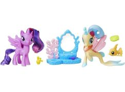 My Little Pony Set 2 poníků s doplňky Princess Twilight Sparkle a Princess Skytar