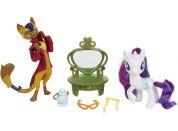My Little Pony Set 2 poníků s doplňky Rarity a Capper Dapperpaws