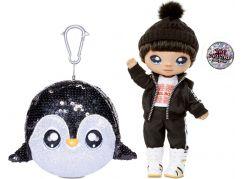 Na! Na! Na! Surprise Panenka ve třpytkovém zvířátku 2v1 Sparkle Penguin