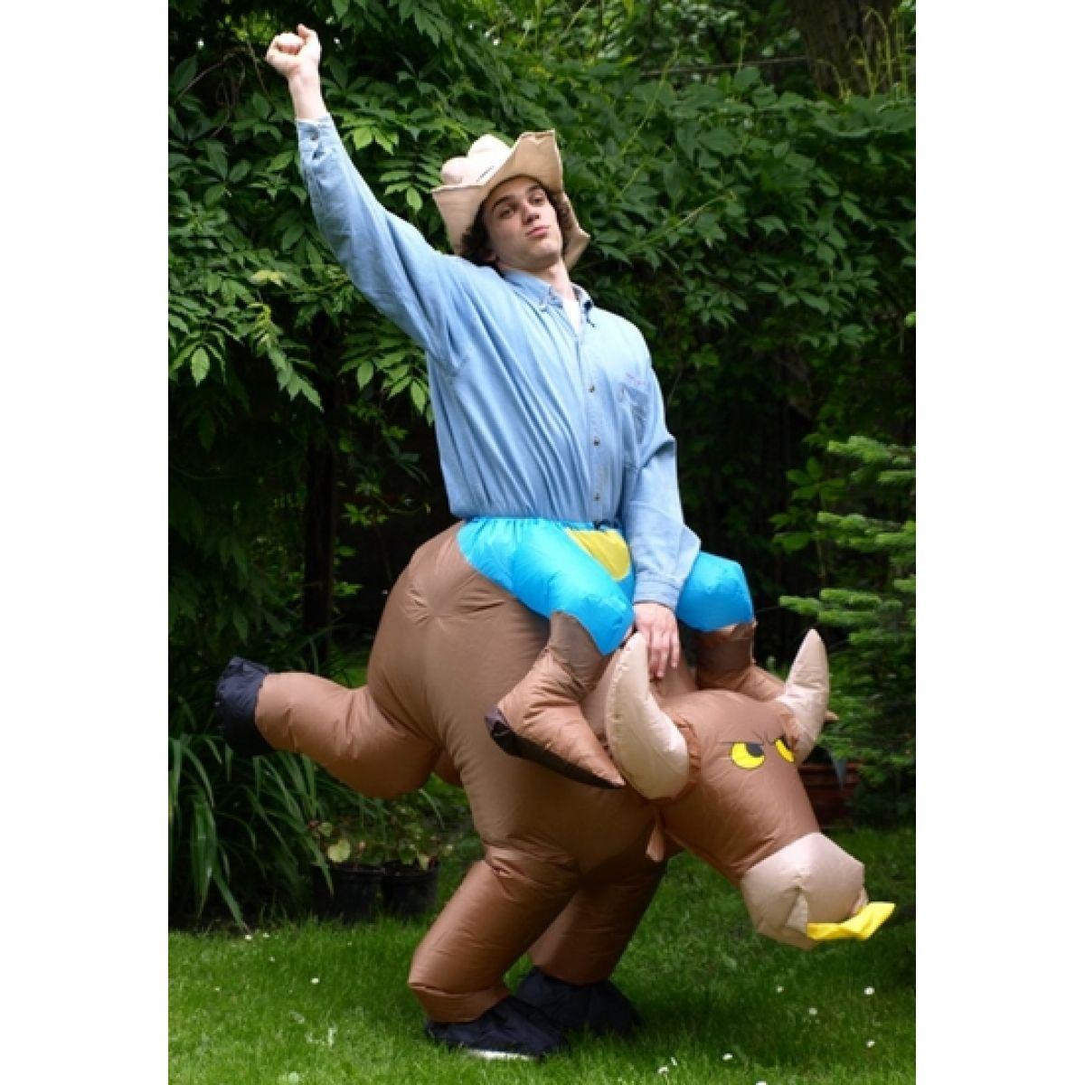 Nafoukanci Kovboj a býk