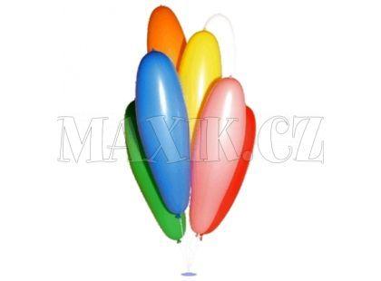Nafukovací balonek Zeppelin 13/70cm mix 9barev (100ks)