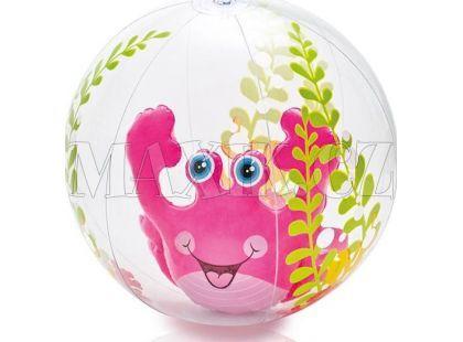 Nafukovací míč akvárium 61cm Intex 58031 - Růžová