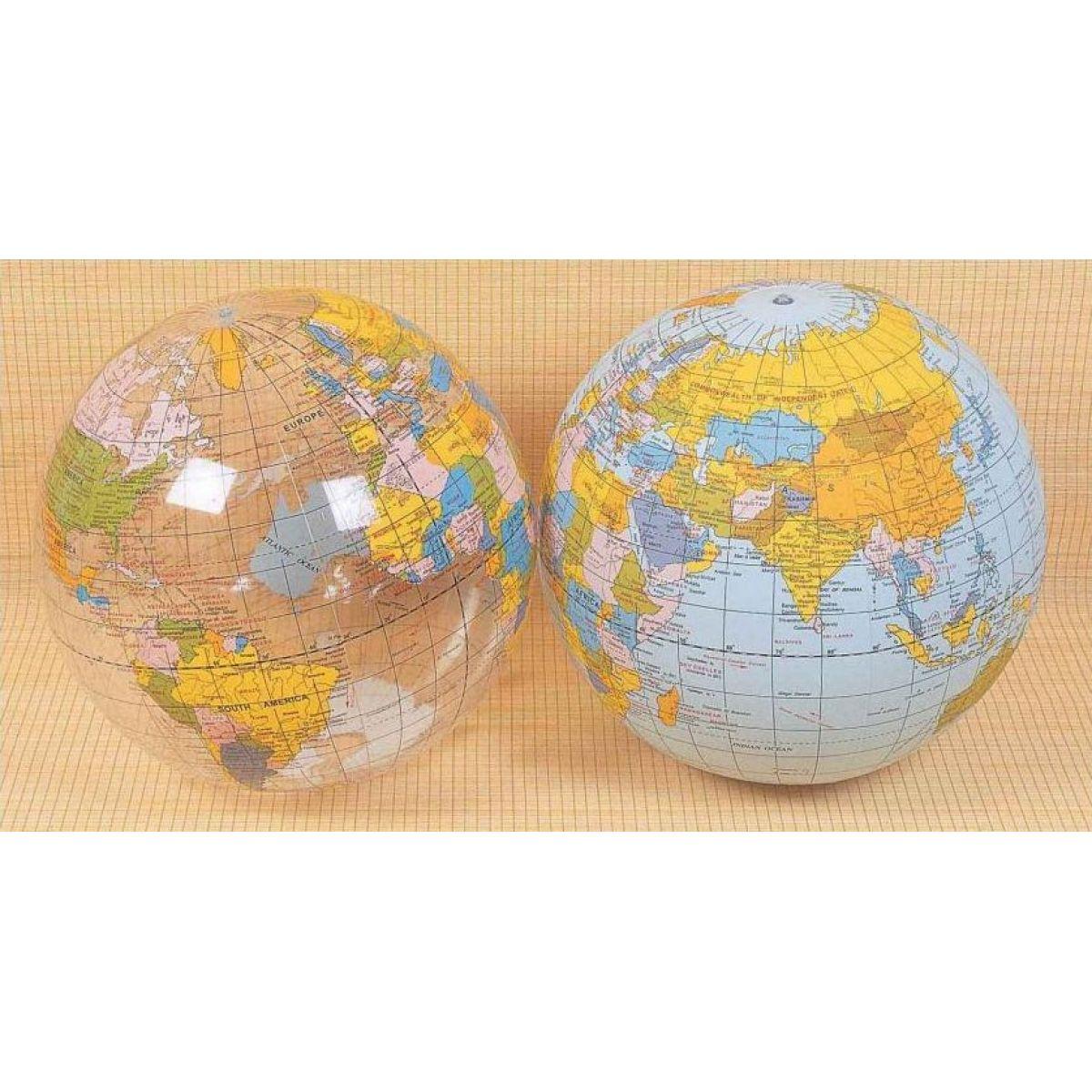 Nafukovací míč Zeměkoule 61cm