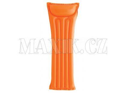 Nafukovací matrace 183x69cm - Oranžová