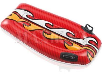 Nafukovací matrace s úchyty Intex 58165 - Červená