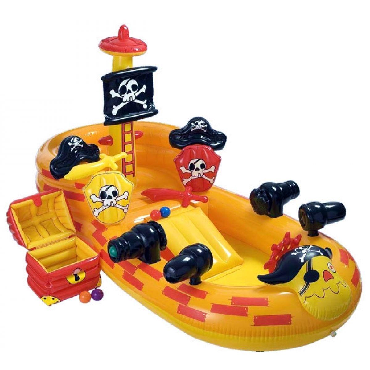 Nafukovací pirátské hrací centrum