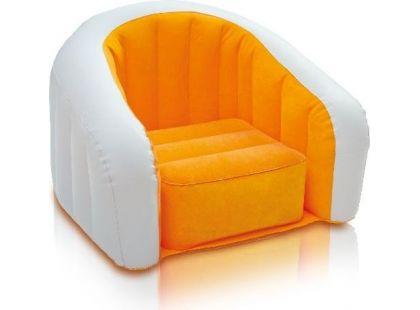 Nafukovací křesílko Intex 68597 - Oranžová