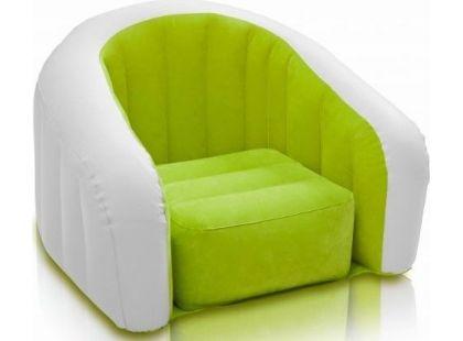 Nafukovací křesílko Intex 68597 - Zelená