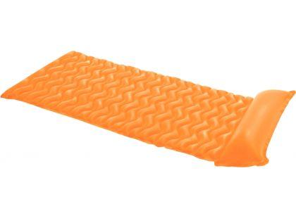 Nafukovací matrace rolovací - Oranžová