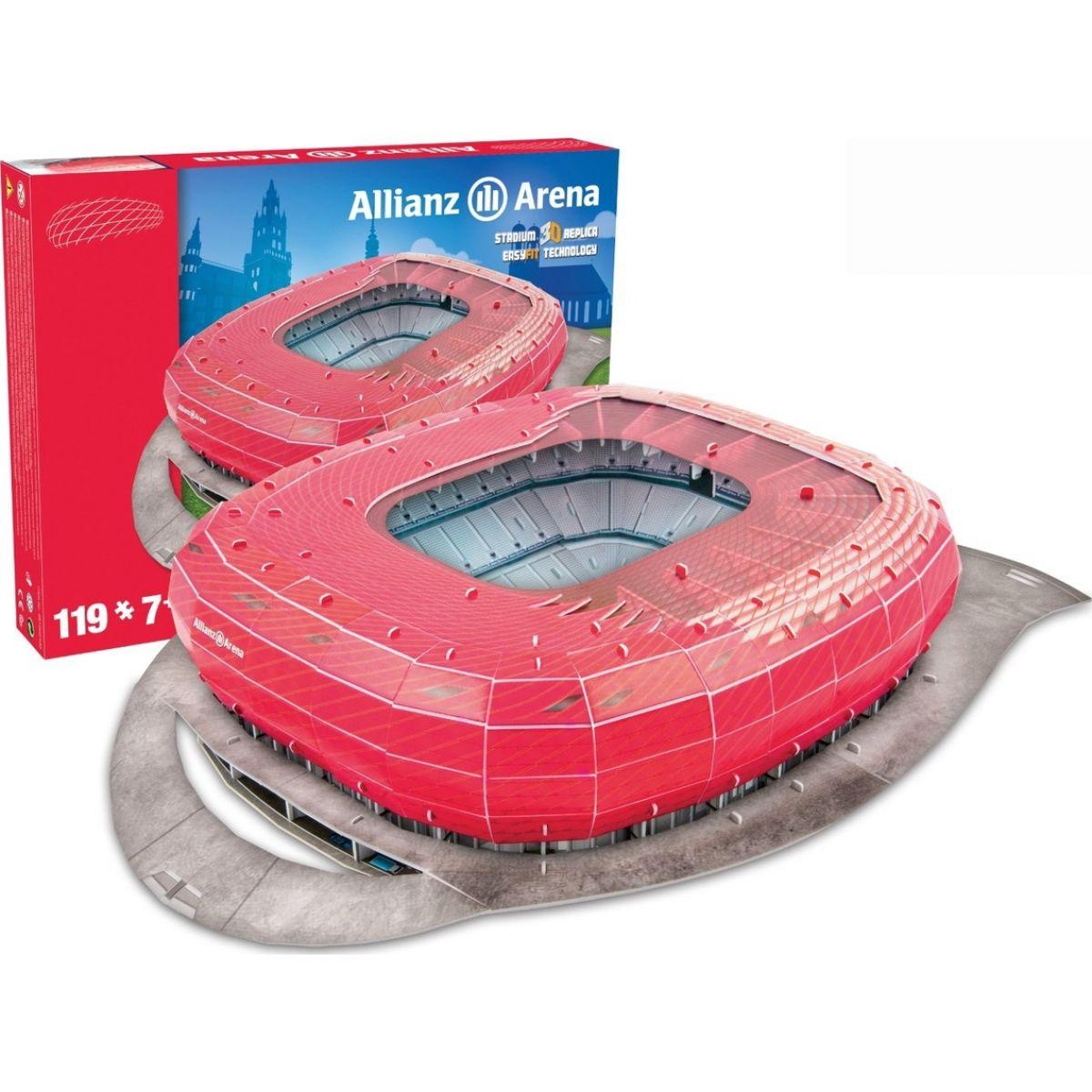 Nanostad 3D Puzzle Allianz Arena - Bayern Munchen