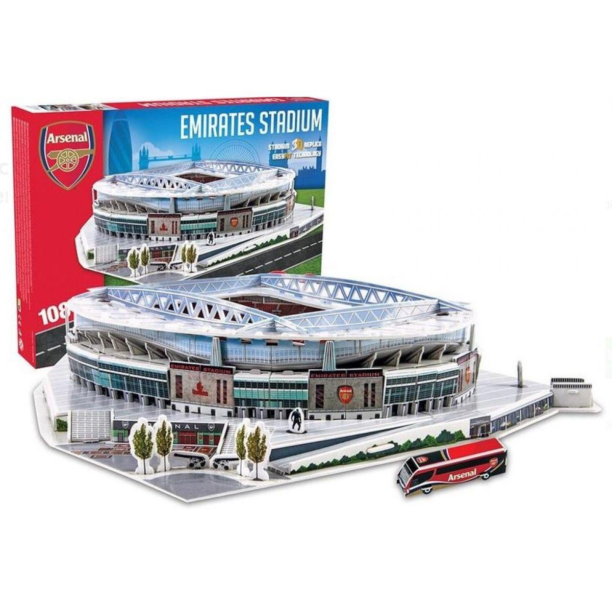 Nanostad 3D Puzzle Emirates Stadium - Arsenal